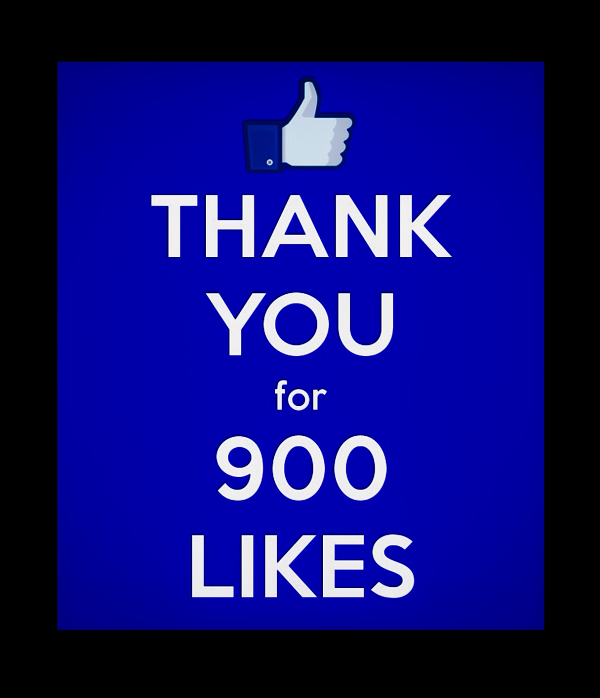 900 Likes