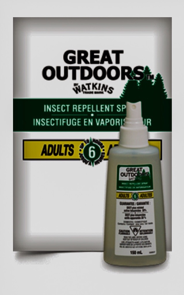 Watkins Insect Repellent Bottle contains 30% DEET