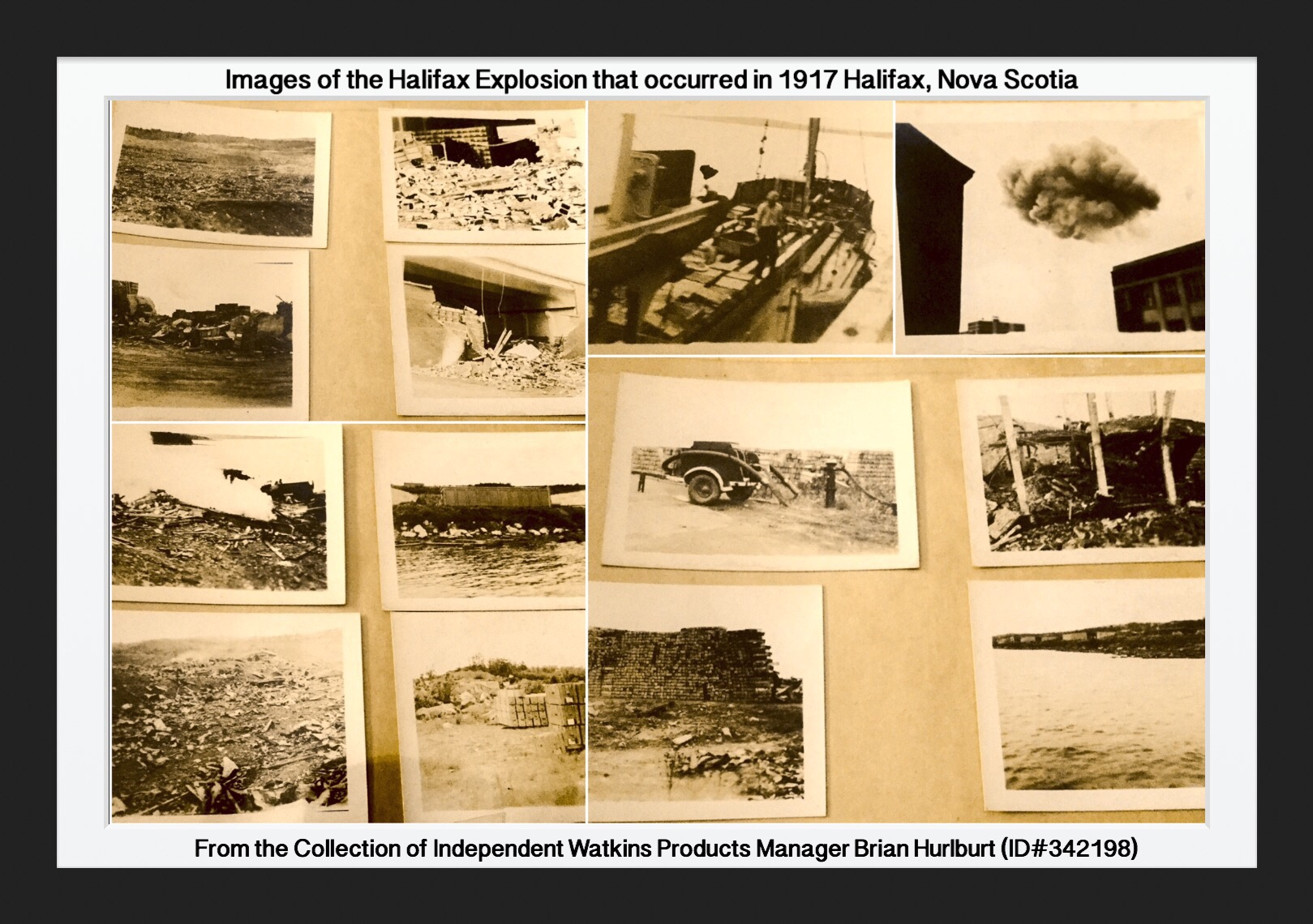 Images of the Halifax Explosion, 1917 Nova Scotia