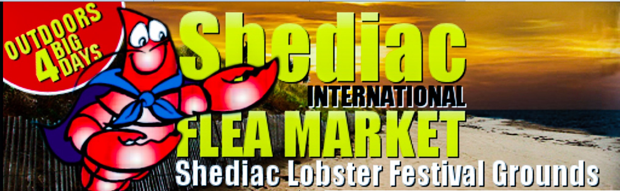 Shediac International Flea Market Website