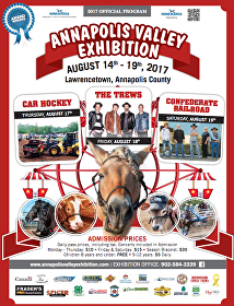Annapolis Valley Exhibition 2017 Poster