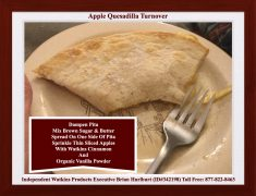 Apple Quesadilla Turnover
