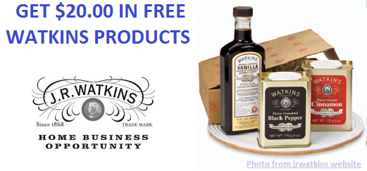 Get $20 in Free Products
