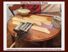Making Homemade Pasta