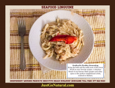 Homemade Seafood Linguine