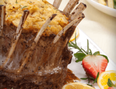Crown Roast with Apple Stuffing